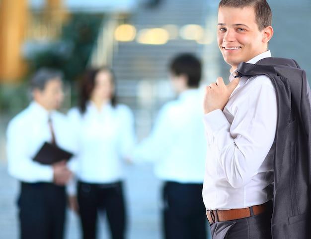 同僚とのビジネスマン