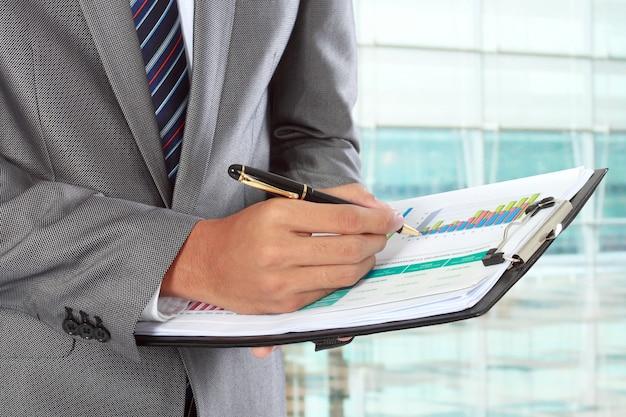 Написание бизнесмена