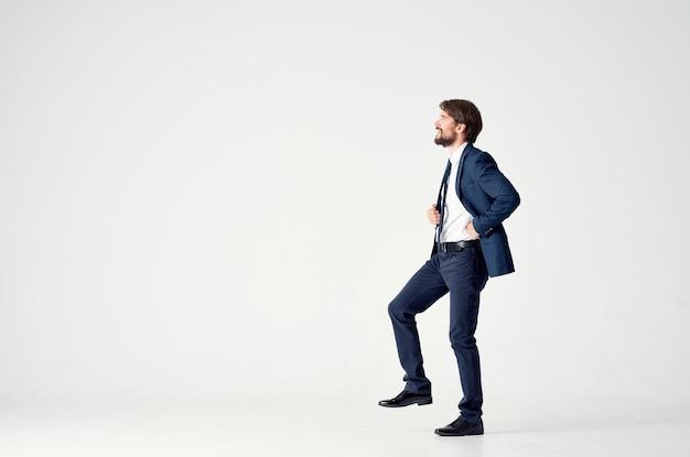 Businessmen emotions successful happy boss