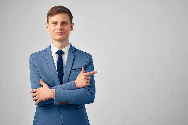 Успех бизнесменов обрезанный вид