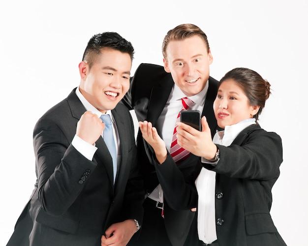 Businesspeople - success
