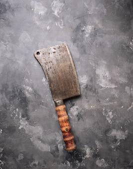 Butchers vintage cleaver for meat
