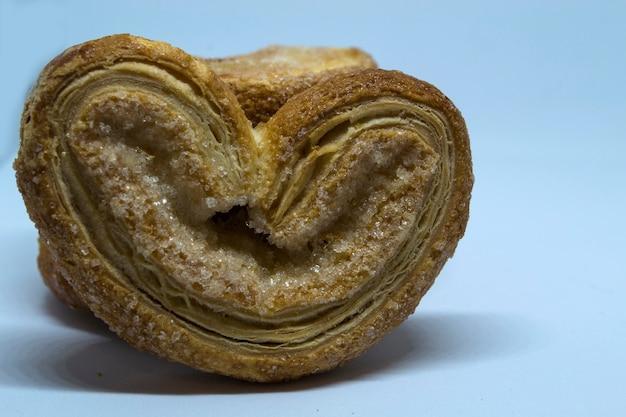 ハートの甘いハートの形をしたバタービスケット