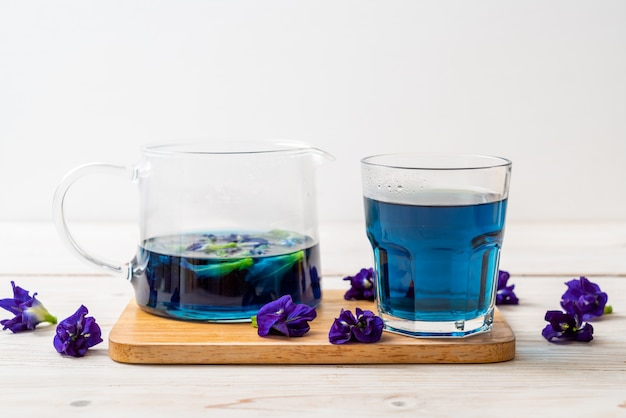 Butterfly pea juice