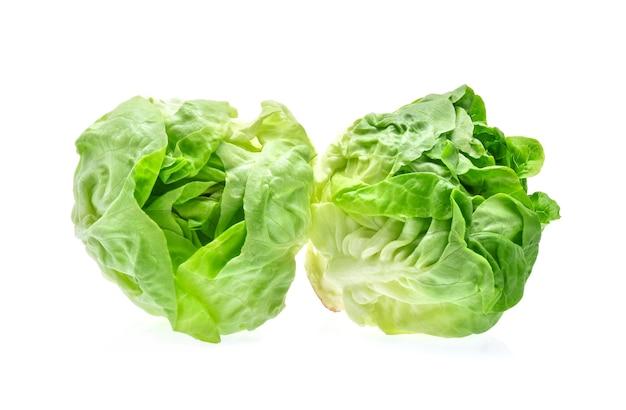 Butterhead lettuce isolated on white background