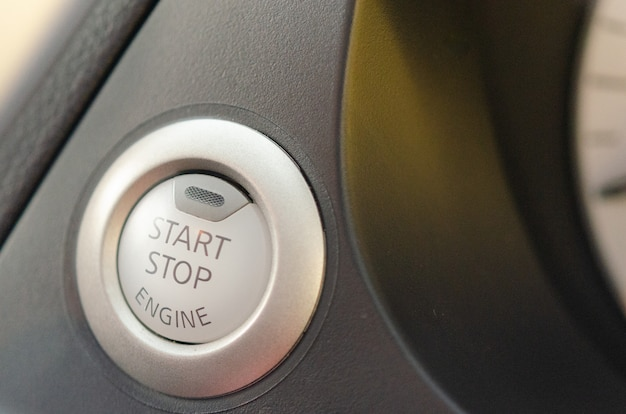 Button to start the car
