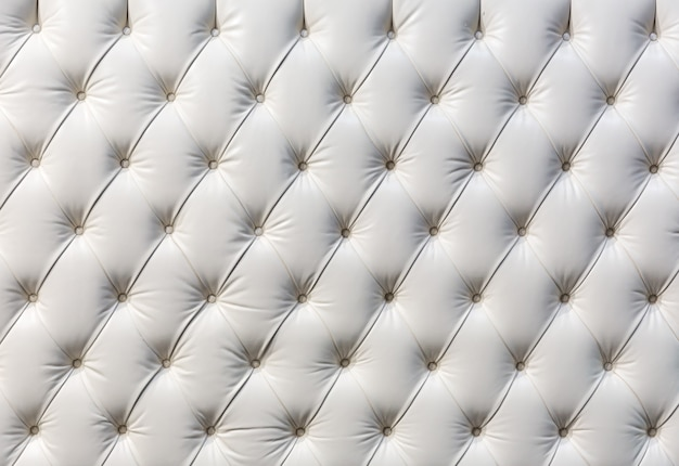Buttoned white texture