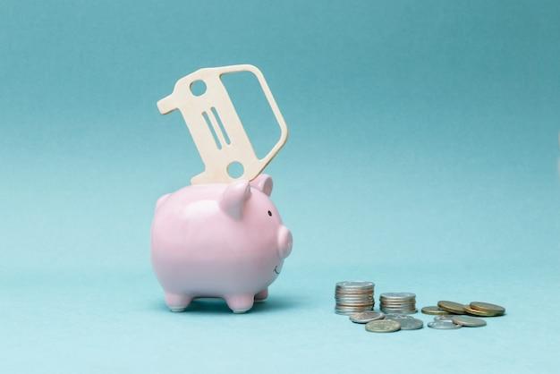 クレジットと現金で車を買う