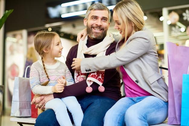 Покупка рождественских подарков