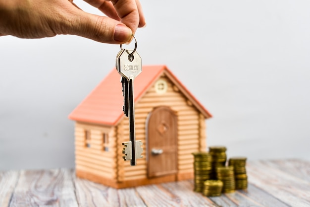 Buying a home. registration of real estate.
