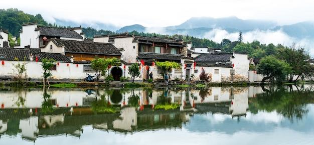 紅c、安hu省の古代の村