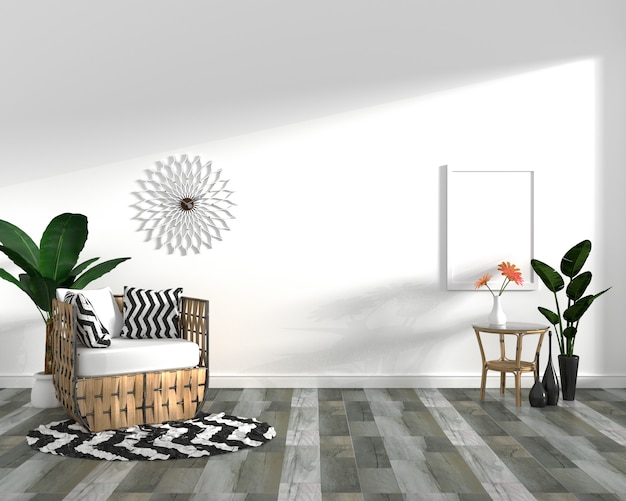 Cabinet on dark wood tile floor