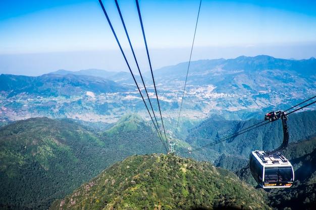 산에서 케이블카