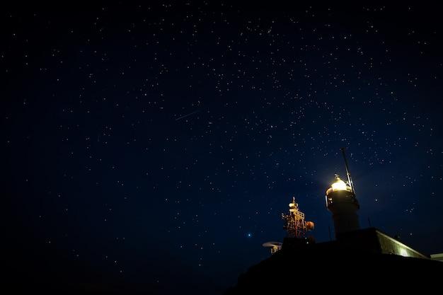 カボデガタ灯台。カボデガタ自然公園。アルメリアスペイン。