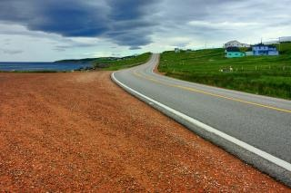 Cabot trail   hdr  photograph