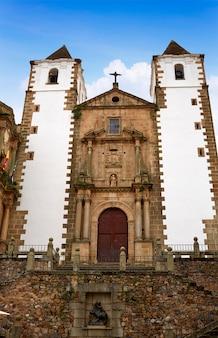 Caceres san francisco javier church spain