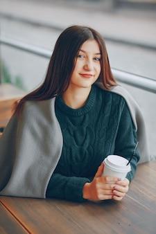 Cafe people lifestyle fun girl