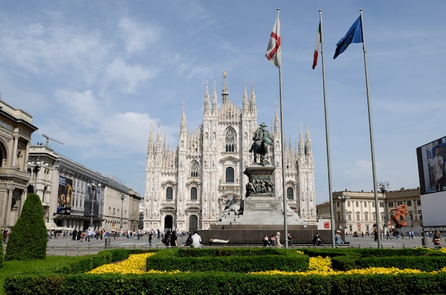 Cahtedral of milan, italy