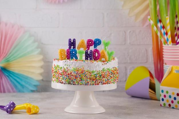 Торт и украшения для вечеринок