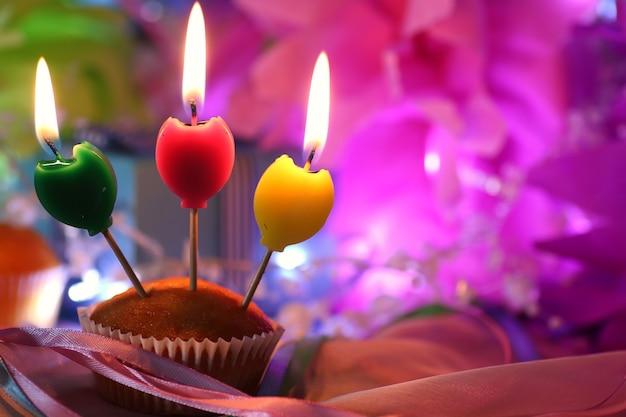 케이크 촛불 축하