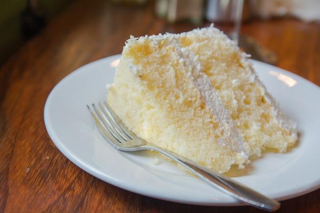 Cake in a coffee shop luang prabang
