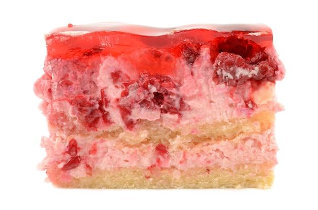 ラズベリーとケーキ