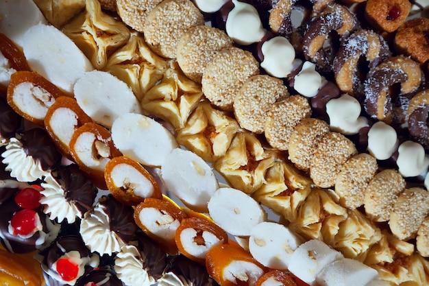 Torte sul banchetto
