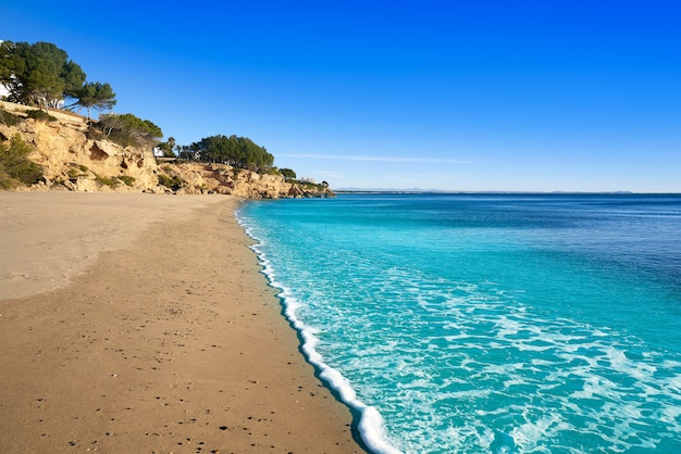 Пляжный пляж cala angels в майами-пладжа