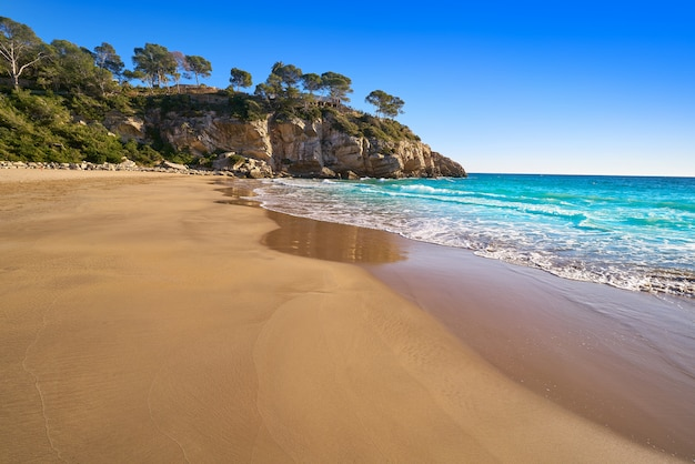 タラゴナのcala crancsサロウビーチ