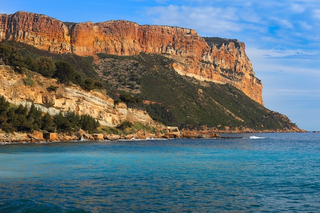 The calanques de marseille and cassis in the south of france