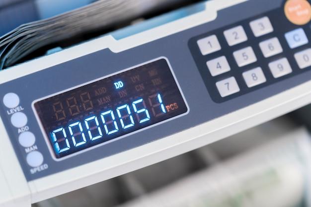 Calculating machine close up