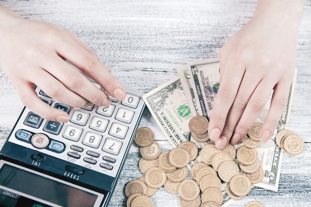 Расчет бизнес-концепции финансов денег.