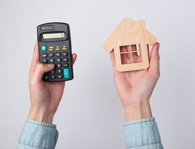 Calculation of the cost of housing, rent.
