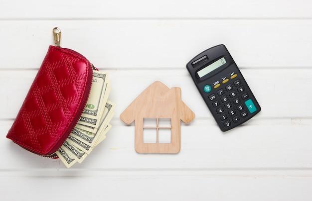 住宅の家賃の計算。