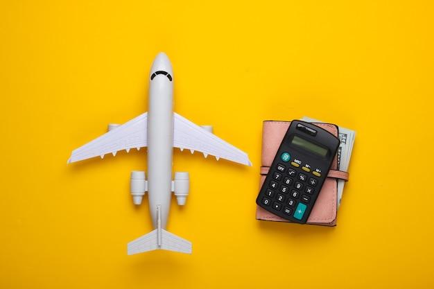 フライトと休暇の費用の計算