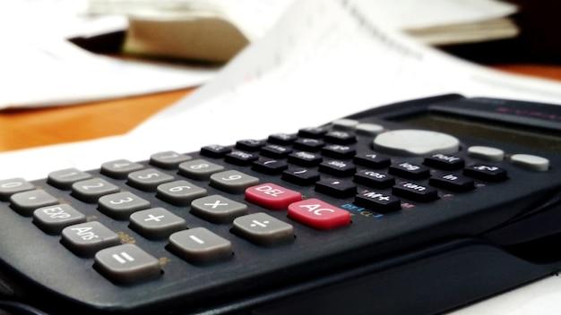 Calculator in classroom