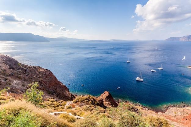 칼데라보기, 산토리니 섬, 그리스