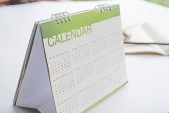 Calendar for plan