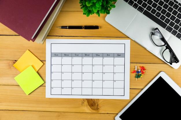 일정 계획 월별 업무 또는 활동.