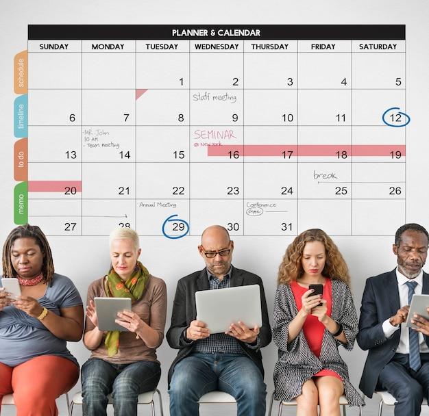 Календарь-планировщик управления организацией напомнить концепции