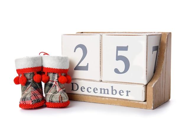 화이트 크리스마스의 날짜와 달력