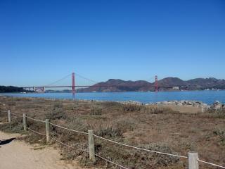 California, goldengate, span