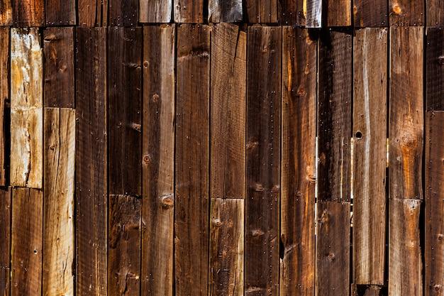 カリフォルニアの古い極西木の質感