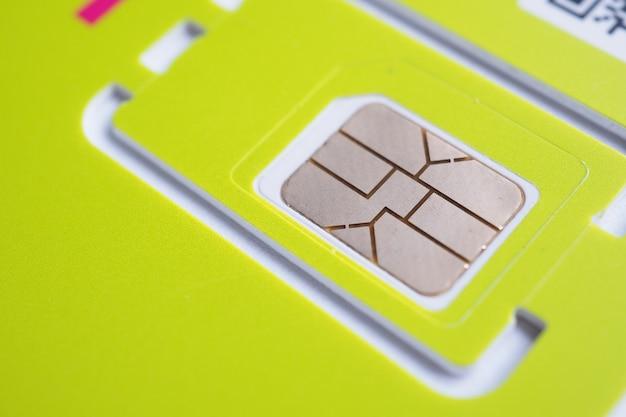 Call sim cell card cellular