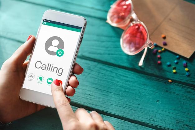 Вызов коммуникации connect networking concept