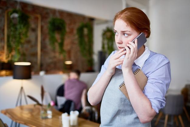 Calling at work