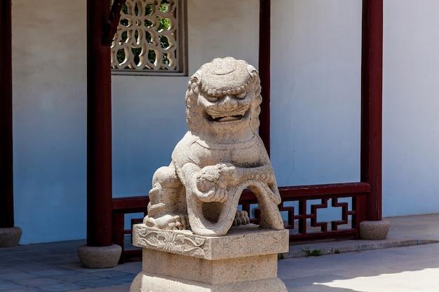 고요한 정원, 중국 전통 건축 및 조각 몰타, 산타 루치하.