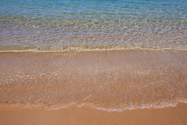 Calm sea water background tranquil water landscape with calm surface