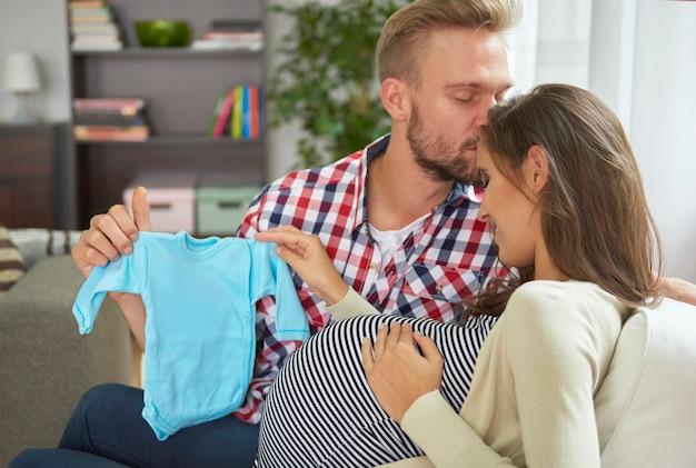 La calma è molto necessaria durante la gravidanza