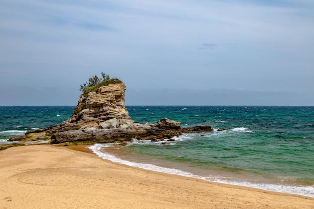 キャメルビーチ、サンタンデル、カンタブリア、スペイン